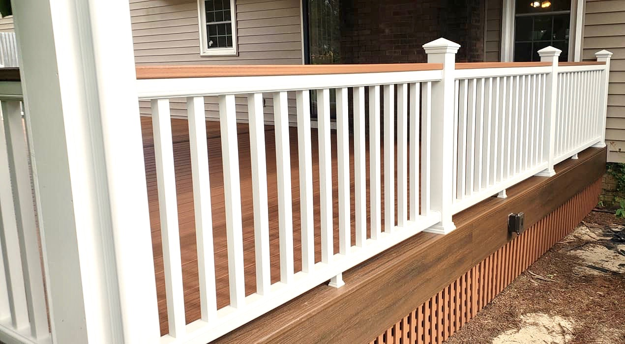 Wright's Home Improvements - Aiken, SC - Railings and Columns
